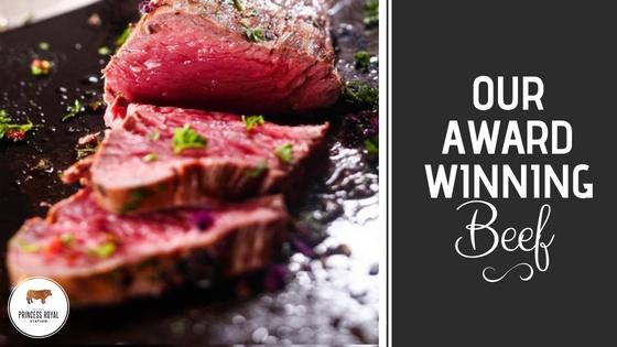 Our Award Winning Beef
