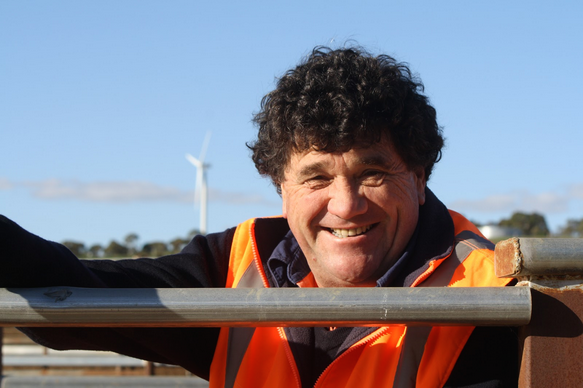 Princess Royal Station's director and manager Simon Rowe is about to start stage one of the feedlot's expansion.
