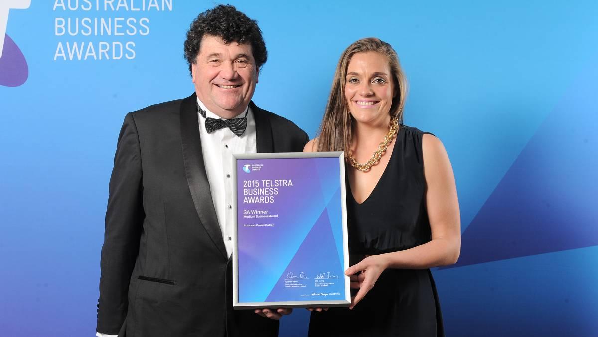 Princess Royal Station Telstra Business Awards