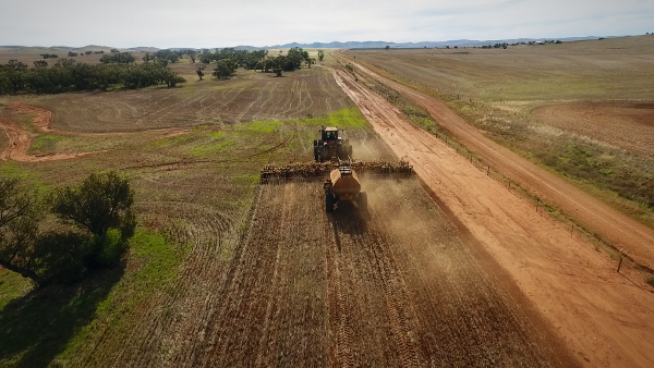 Seeding Princess Royal Station, Burra, SA